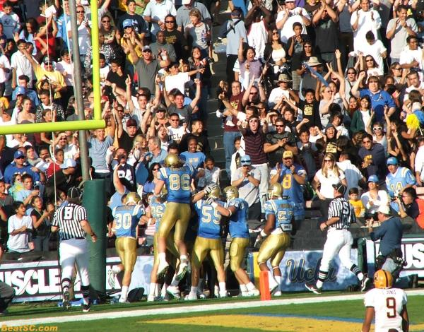 The Bruins had Big Mo after this TD, but never scored again.