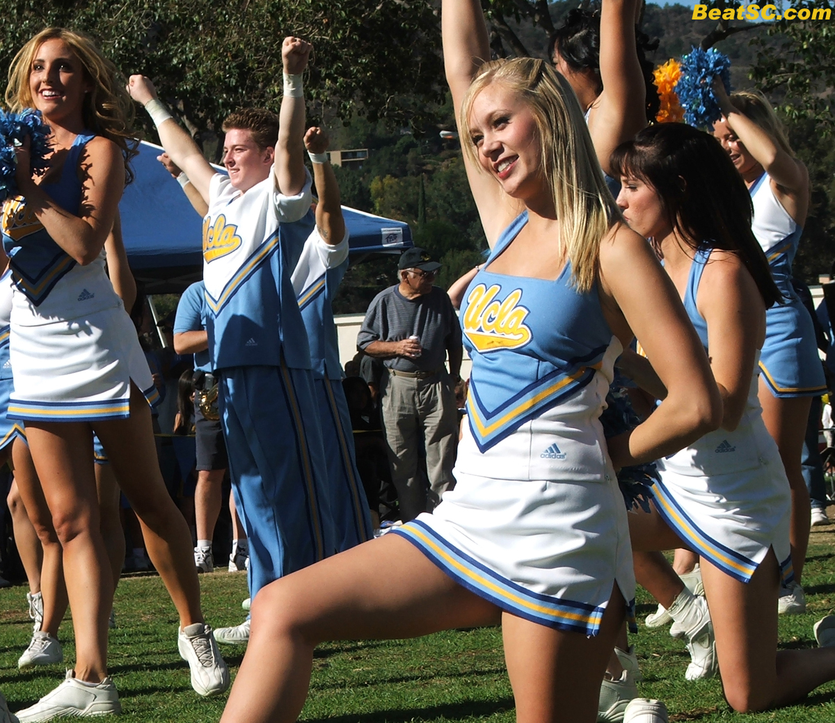 Upskirts high school cheerleader crotch shots all