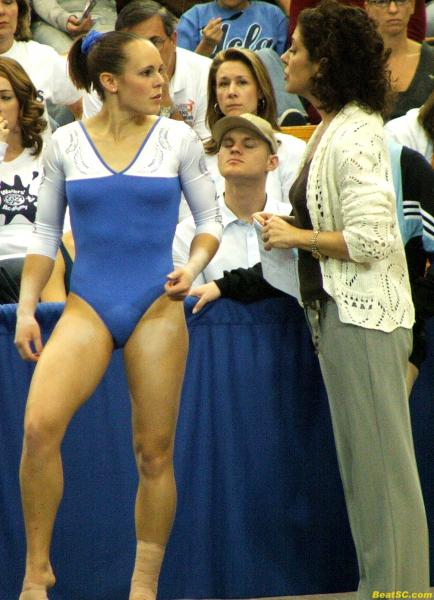 The Bobby Knight approach is not needed too often in Gymnastics