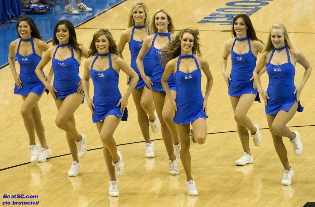 Ucla basketball cheerleader hole