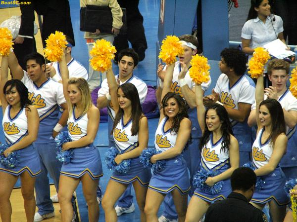 Cheer without Peer — Another reason why if you pick UCLA, you will have chosen…WISELY.