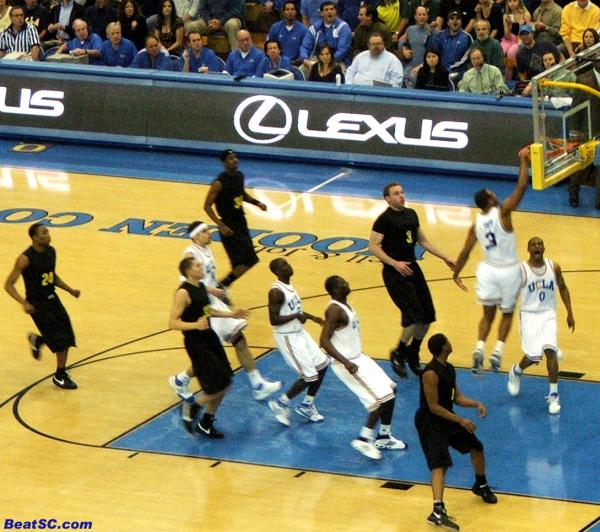 Shipp's dunk started a Parade of Dunks that kept the crowd and the Bruins in the game