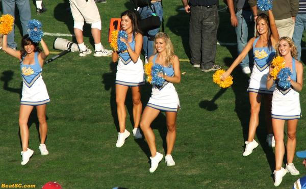 Could this really be the last time on the Rose Bowl sideline for a member of the Spirit Squad?