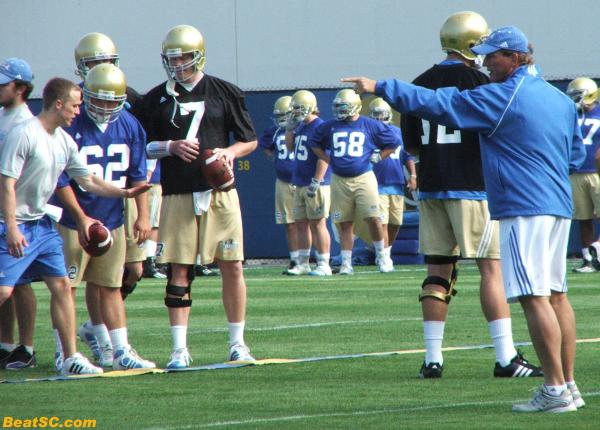Neuheisel gave plenty of his OWN input to the Offense, in case you were wondering.