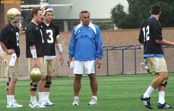 Here's (probably) your first look at #3 Kevin Craft, one of Norm's new QB disciples
