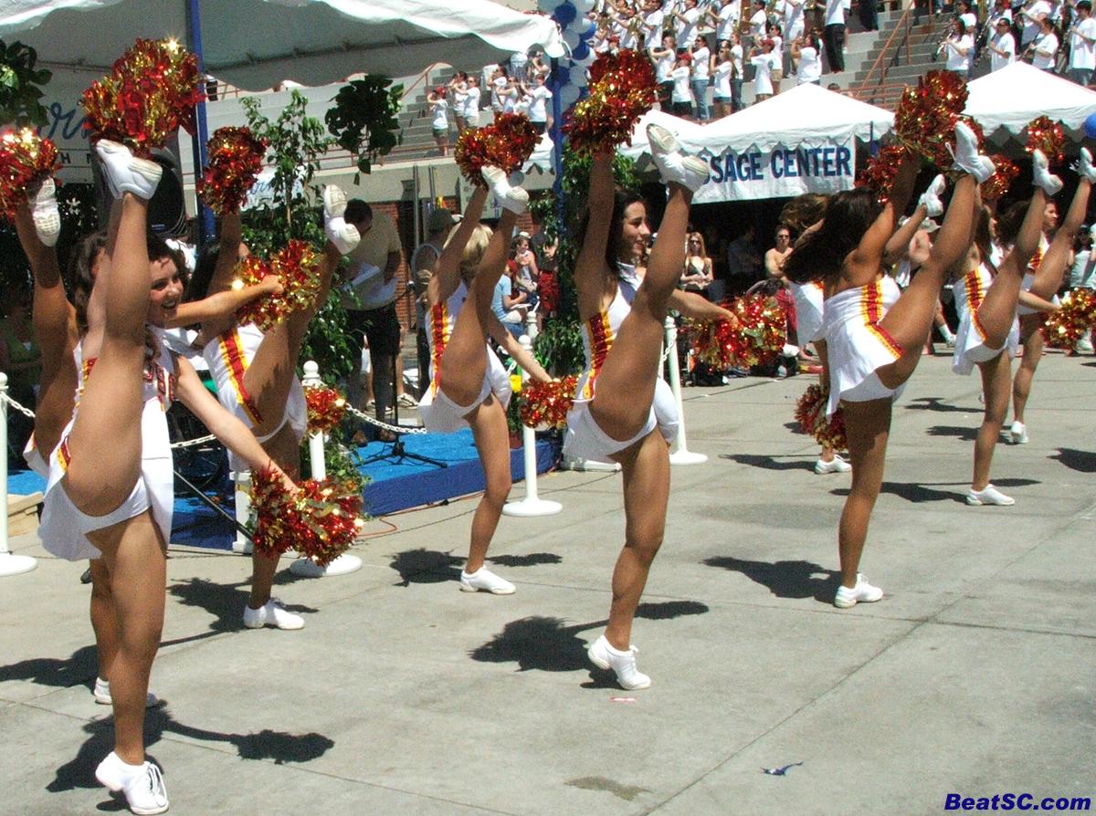 Usc Song Girls Legs