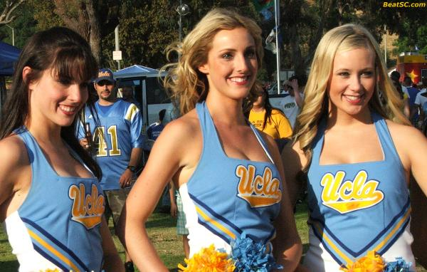 Didn't really mean to stick it to Cindy over addiction.  After all, I'm a terminal UCLA Spirit Addict, with no hope (or desire) of recovery.