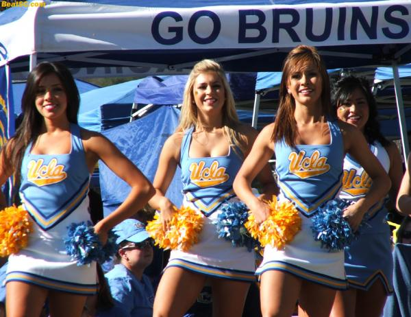 "Do you think the UCLA Girls get ""up"" for the Oregon game?"
