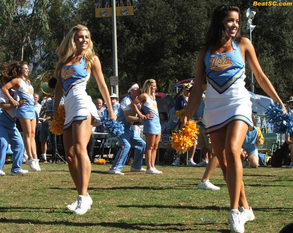 "And this whole bogus ""Showdown"" completely discounts Athletic Talent, which the Bruin CHEER SQUAD has in excess."