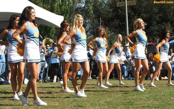 SOOO, Brian Dohn isn't interested in the UCLA Dance Team.  Says he must be too old.  When I get that old, PLEASE kill me.