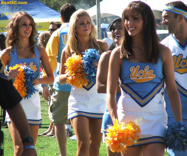 "The Girls themselves probably HATE the idea of a Spirit ""competition"" between UCLA and Oregon, or anyone else."