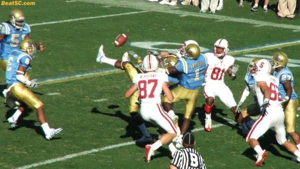 The Final Gasp:  This is Stanford's Hail Mary as time expired.