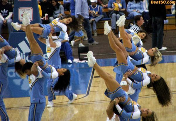 "Hopefully, the ""no Dance Team"" news didn't turn your world upside-down."