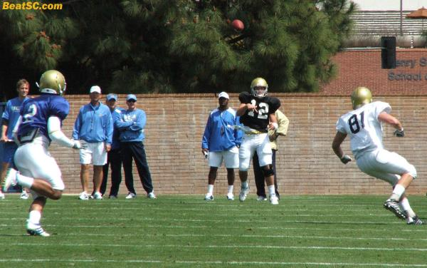 Brehaut needs to get ready;  Almost every year at UCLA, the #2 QB gets a shot, for one reason or another.