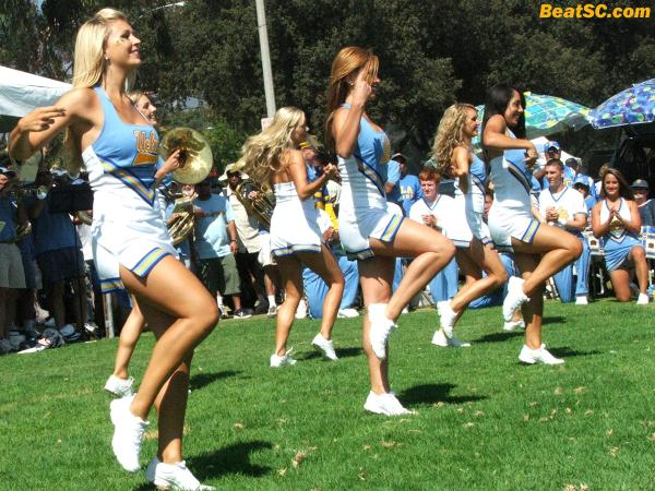 Do me a favor and savor the flavor of the outgoing UCLA Dance Team.
