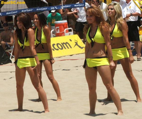 The AVP Girls may become more popular than the AVP.