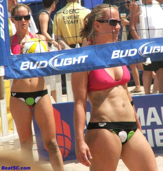 The point is, just qualifying for the Super Bowl of Beach Volleyball is admirable.