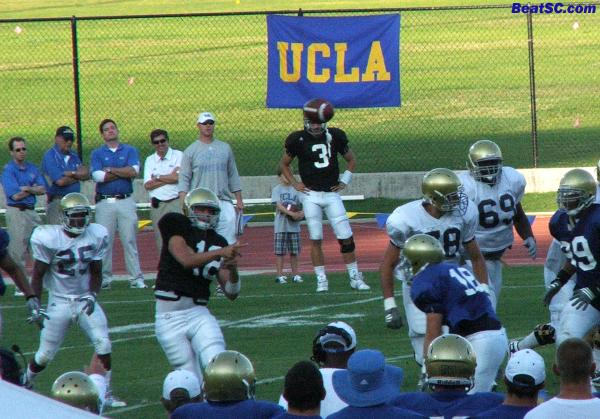 It's all right there:  Brehaut is blocking out Craft from being the back-up QB.