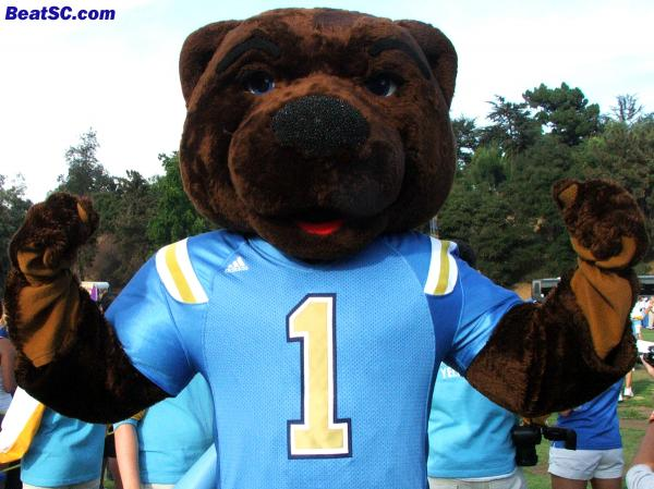 Even the Mascot is lookin' better this year.