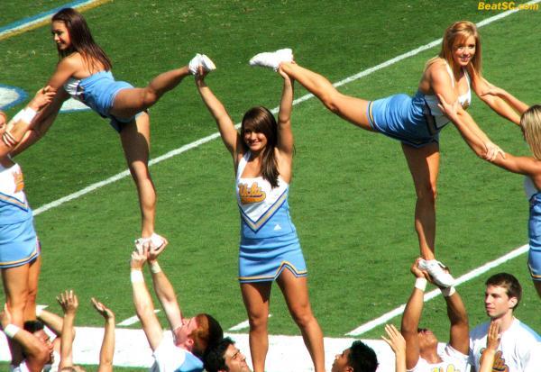 Human Pyramid of Success (sort of).