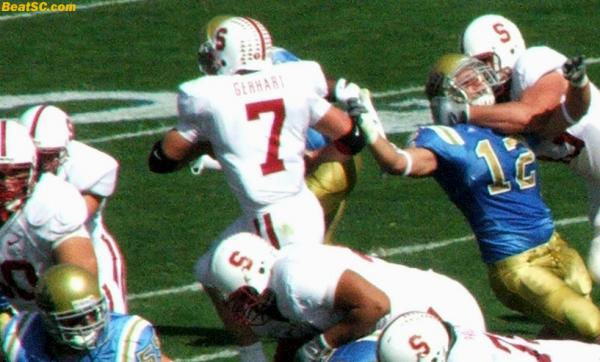 His name is TOBY, and he's running to freedom, as UCLA's 6-year Ownership of Stanford finally came to an end.