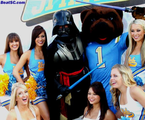 But when it comes to Spirit, The Force is with UCLA.