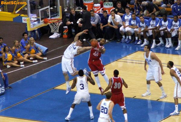 One thing about Reeves Nelson:  He will bend over backwards to get the job done for UCLA.