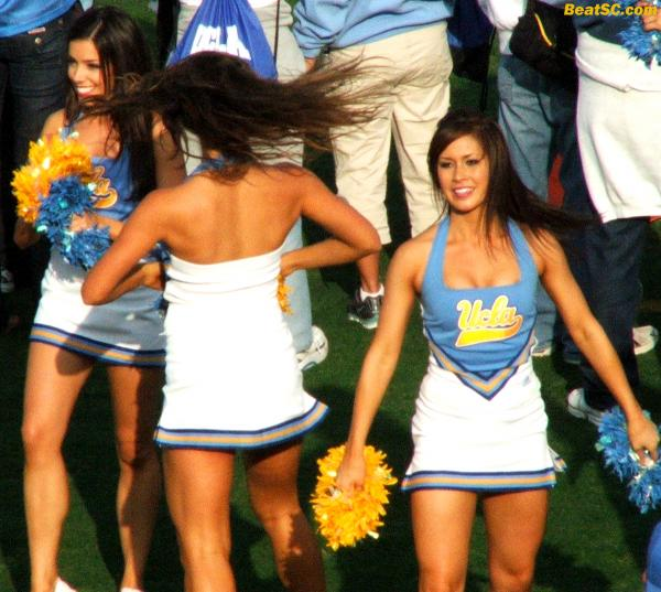 "Last one for tonight.  Go Navy on Saturday  — Give UCLA's season ""LEGS!"""