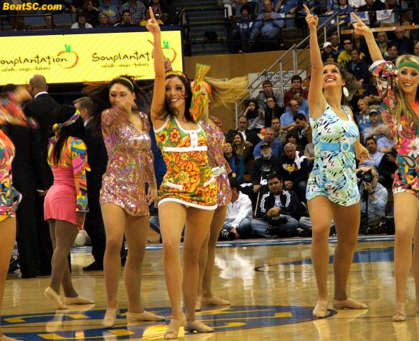 "It's not going to be as groovy without some of the veterans.  They should do a ""Seniors Day"" for the Spirit Squad.  That would be far out."