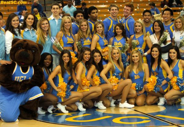 My sincerest Thank You goes out, to all the hard-working, dedicated members and staff of the UCLA Spirit Squad.