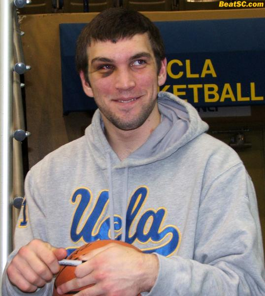 Wooden must love tough-as-nails Reeves Nelson, who has been ANYTHING but a black eye on the Bruin Program.