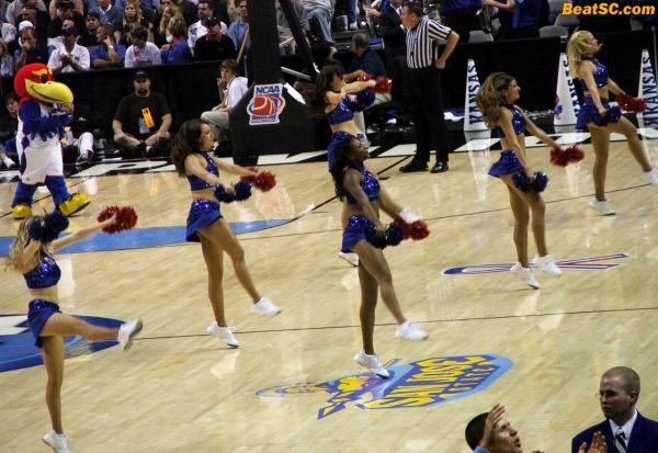 Now you know why the Jayhawks didn't look like World-beaters when then played UCLA… It's because they weren't.