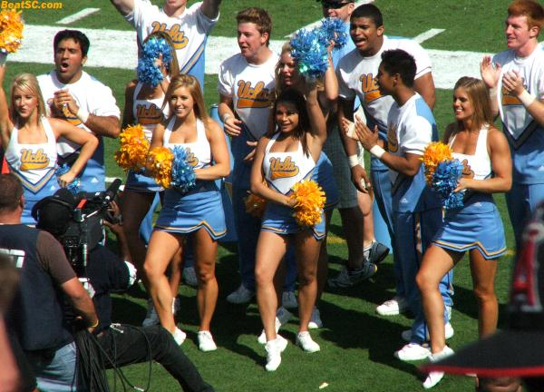 Last one for today — I hope you enjoyed them.  More, with the Dance Team too, coming soon.  BTW:  I confirmed, SADLY, that Michelle is no longer on the Spirit Squad (but I don't know what happened).