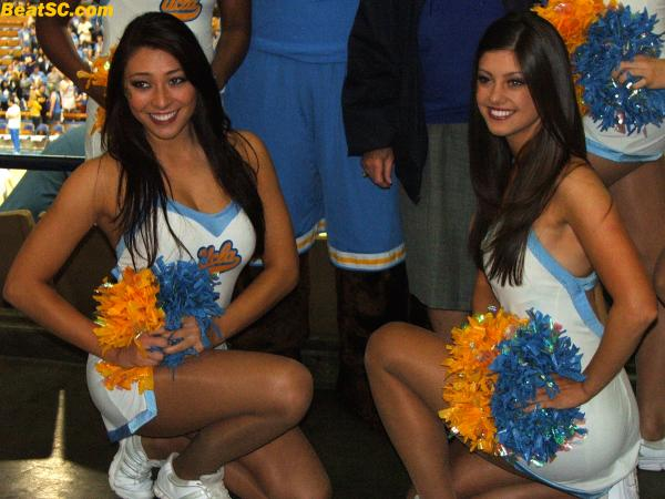 Banner-worthy: Pauley Pavilion Pose Party.