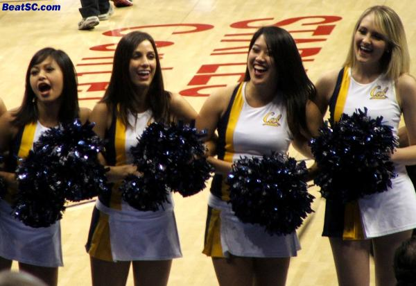 These girls could have a lot of travelling in their near future, as Cal goes deep into the NCAA's.