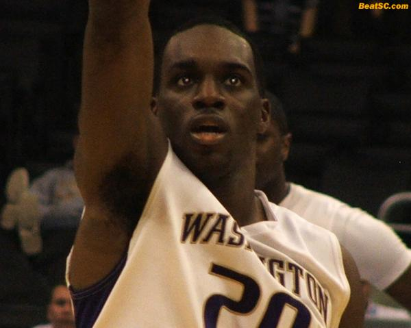 It was Q-Pon who helped the Huskies Flee Marquette.
