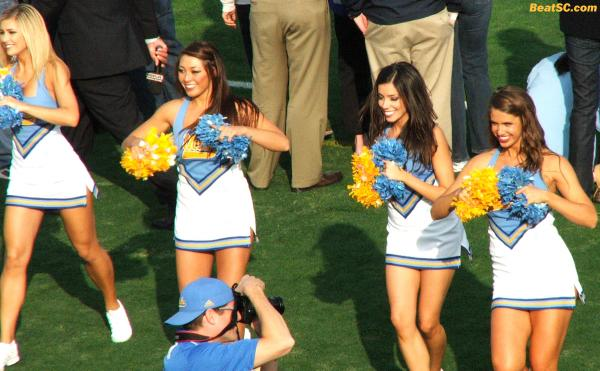 Big Gymnastics supporter John Wooden may even attend, as the #3 Bruins go for another National Championship.