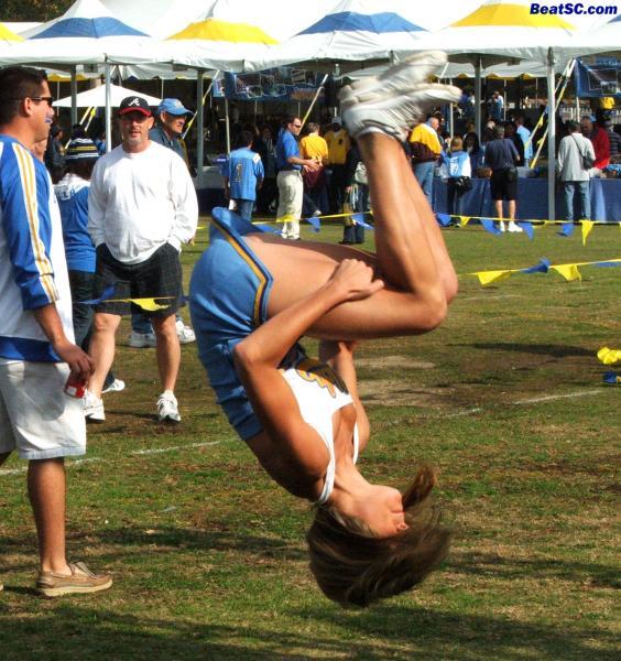 And she stuck the landing like Kerri Strug.