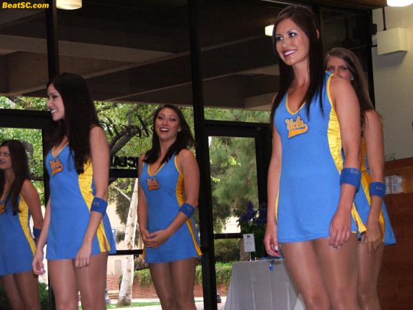 "But these Bruin girls can't be ""iced"" like a nervous Free Throw shooter — These Girls never choke."