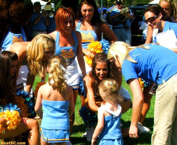 Jenna-Rah-City:  Jenna on the recruiting trail for UCLA.