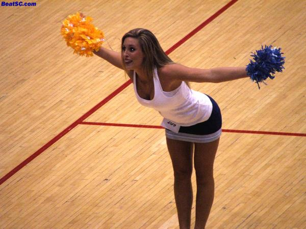 """This is Chelsea, who is one of the newest members of THE CHEER SQUAD.  """"Chelsea"""" is one of the greatest names in UCLA Spirit, as """"Chelsey"""" from a few years ago was an integral part of UCLA's rise to the top."""