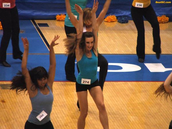 I don't know if there's any crossover between Dance and Cheer — They seem to have different physical requirements.