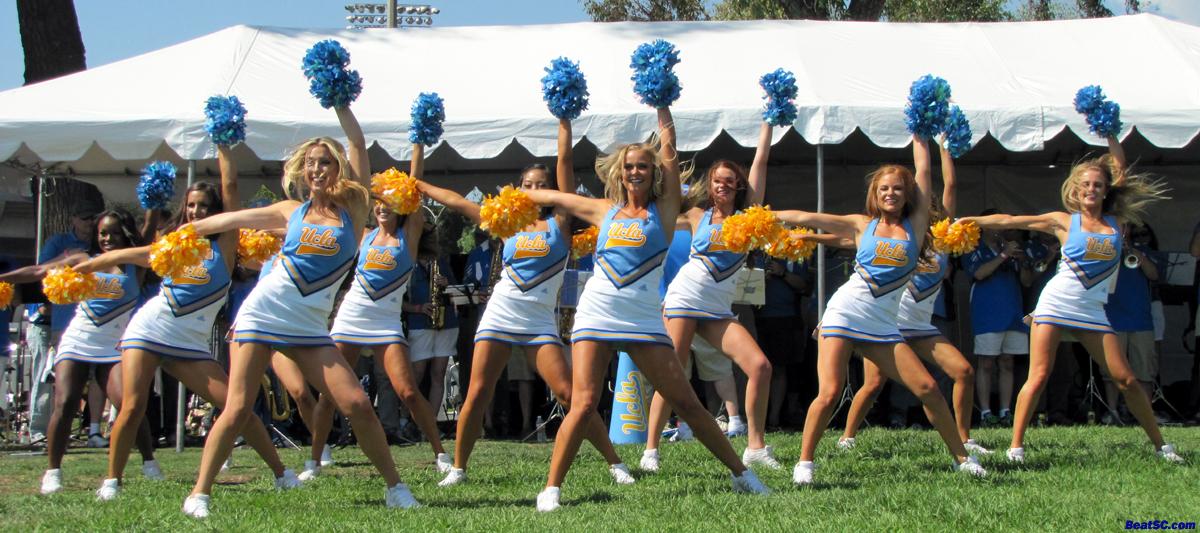 Ucla Dance Team 2012 Bruins Turn The CORN-e...