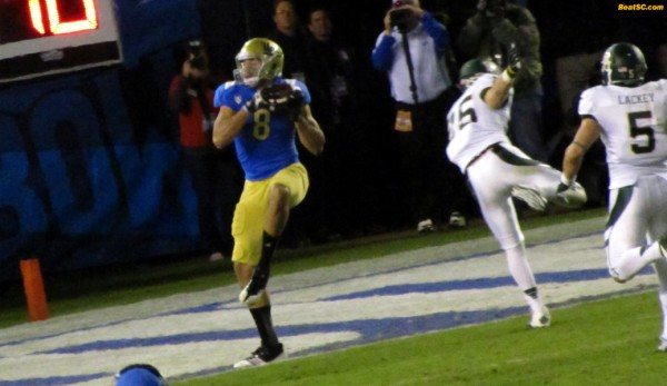 Fauria TD catch -- UCLA's only meaningful score all night