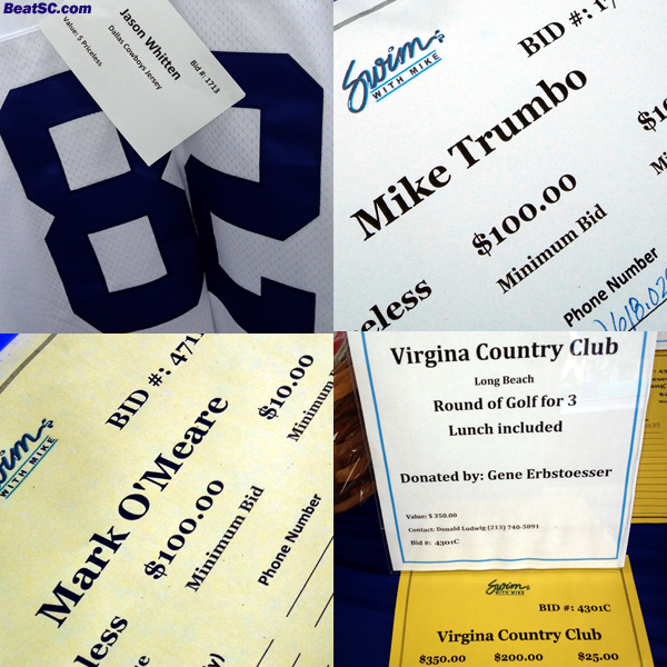 """Wanted:  Proofreader!  FOUR names spelled wrong at the silent auction.  I mean really... """"VIRGINA???"""""""