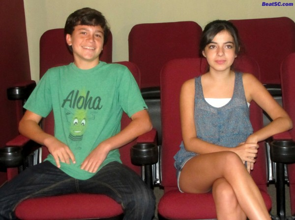 "Co-Stars of ""Invasion of the Appleheads"" Kalama Epstein and Jaiden Jiron"