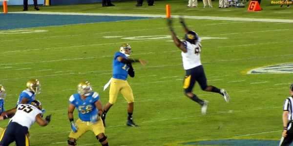 Hundley never gets flustered by a rush