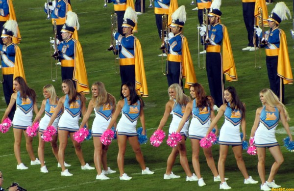 The UCLA Dance Team (and band)
