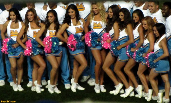 The UCLA Cheer Squad